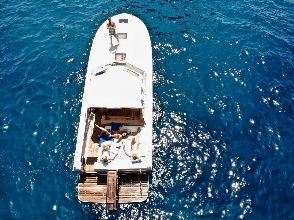 cuor di leone capri barca