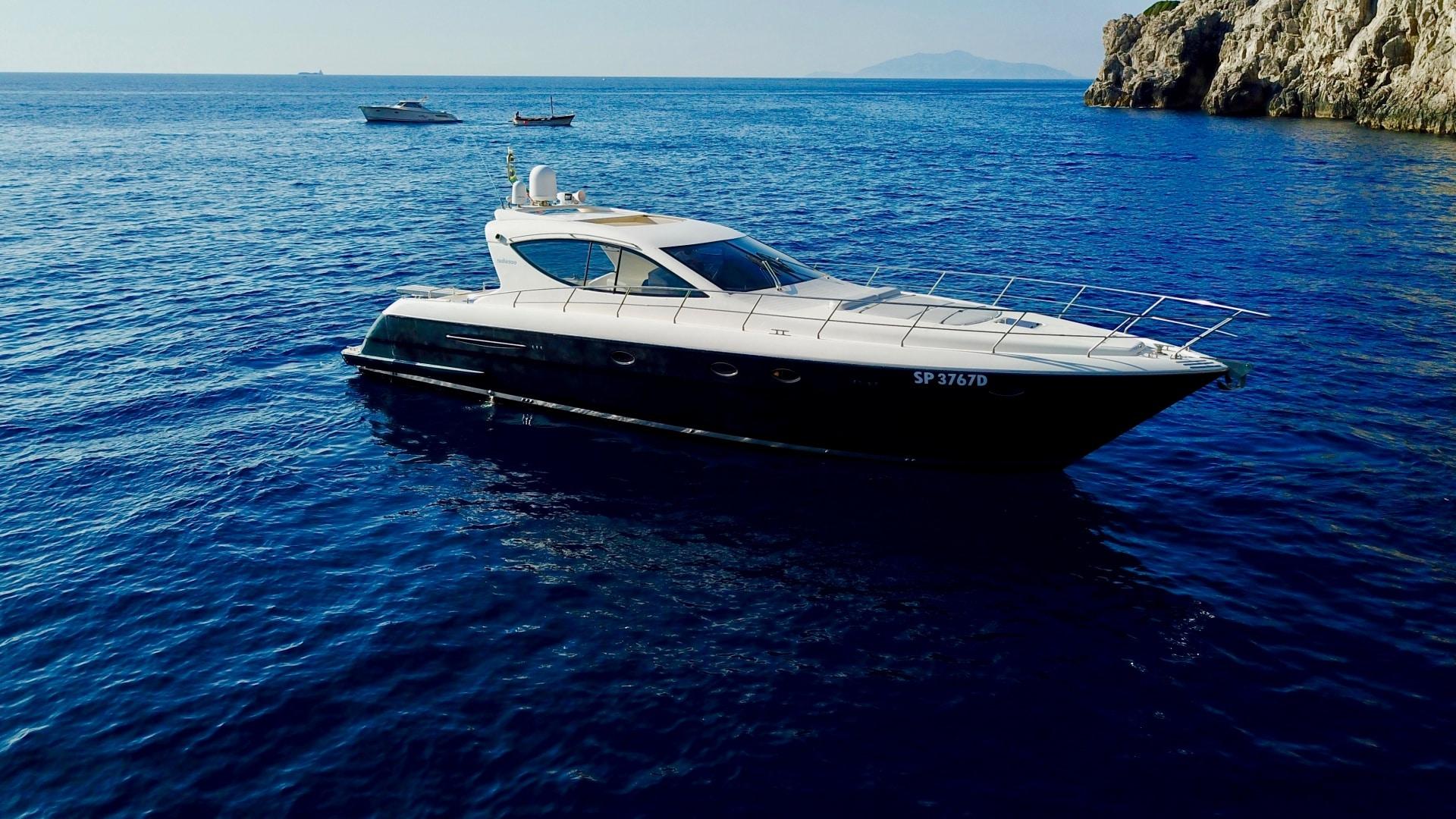 noleggio yacht capri